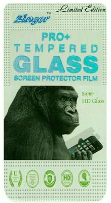 ZINGER Tempered Glass Guard for MICROMAX CANVAS FIRE A093(Pack of 1)