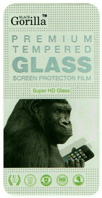 BLACK GORILLA Tempered Glass Guard for LAVA IRIS X1 GRAND