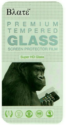 BLATE Tempered Glass Guard for MICROMAX CANVAS FIRE A093(Pack of 1)