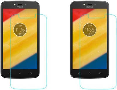 ACM Tempered Glass Guard for Motorola Moto C Plus(Pack of 2)