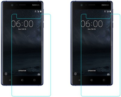 ACM Tempered Glass Guard for Nokia 3(Pack of 2)