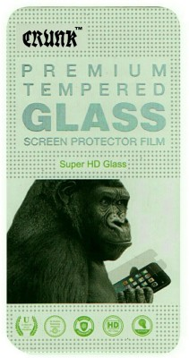 CRUNK Tempered Glass Guard for MICROMAX CANVAS ENTICE A105