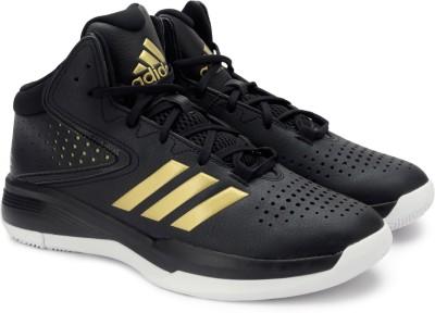 Adidas Cross Em 4 Black Basketball Sports Shoes