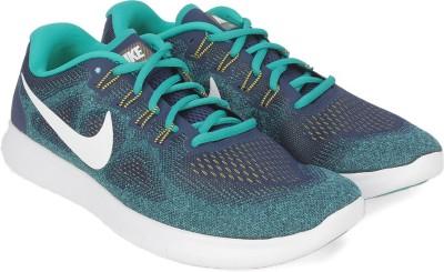 Nike FREE RN 2017 Running Shoes For Men(Blue) 1