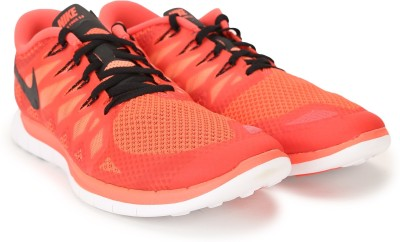 Buy Nike FREE 5.0 Running Shoes(Orange) on Flipkart