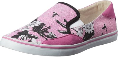 PUMA Match Slip On Flouri Wns IDP Loafers For Women Pink PUMA Casual Shoes