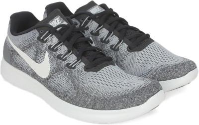 Nike FREE RN 2017 Running Shoes For Men(Grey) 1