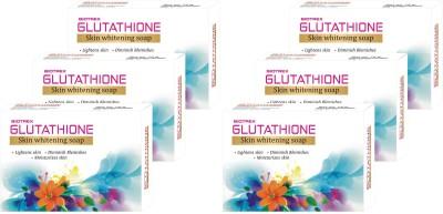 biotrex Glutathione Skin Whitening Soap - Pack of 6(6 x 75 g)