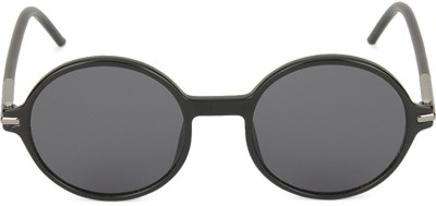 Marc Jacobs Round Sunglasses(Grey) at flipkart
