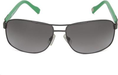 Boss Orange Retro Square Sunglasses(Brown) at flipkart