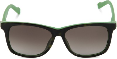 Boss Orange Wayfarer Sunglasses(Brown) at flipkart