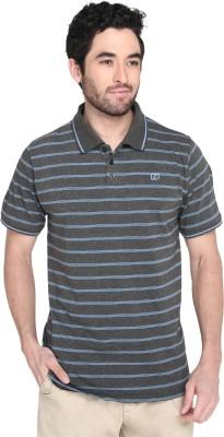 Zido Solid Men Polo Neck Multicolor T-Shirt