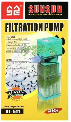 Sunsun Corner Aquarium Filter(Mechanical Filtration for Fresh Water)  available at flipkart for Rs.440