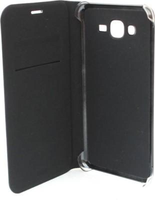 Mozette Flip Cover for Samsung Galaxy J7   6  New 2016 Edition  Black