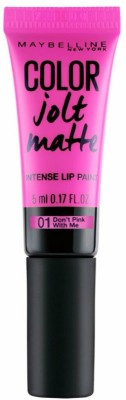 Maybelline New York Color Jolt Matte Lipstick 01 Don't Pink With Me 5 ML
