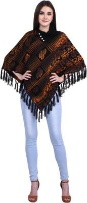 SatSun Women Ladies Girls Winter wear Woolen Poncho