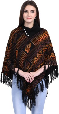 eWools Women Winter Wear Woolen Poncho