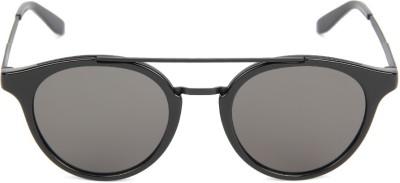 Carrera Round Sunglasses(Brown) at flipkart