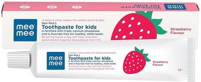MeeMee Fluoride-Free Strawberry Flavor Toothpaste(70 g)