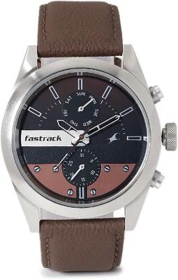 Fastrack 3165SL01 Analog Black Dial Men's Watch (3165SL01)