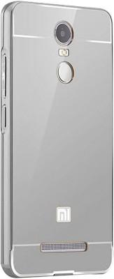 Casotec Back Cover for Mi Redmi Note 3(Silver, Metal, Plastic)