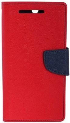 GadgetM Flip Cover for Mi Redmi 3S Prime Red