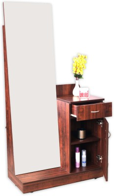 Beau Eros Iris Engineered Wood Dressing Table(Finish Color   Wooden) Best Dressing  Tables Price