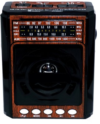 Yuvan So-Ro 999 USB/ SD Player With 4 Band FM Radio(Wooden)  available at flipkart for Rs.999