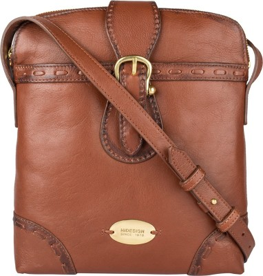 Hidesign Hand-held Bag(Tan)  available at flipkart for Rs.5295