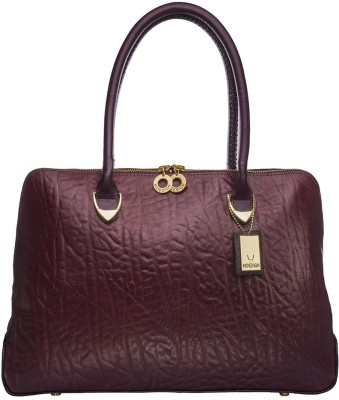 Hidesign Hand-held Bag(Purple)  available at flipkart for Rs.7995