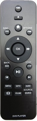 LipiWorld DVD and Home Theater System Compatible For Philips DVD Home Theater Remote Controller(Black)