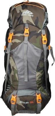 Mount Track Ninja Rucksack, Hiking Backpack With With Laptop Compartment Rucksack  - 70 L(Multicolor) at flipkart