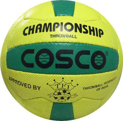 Cosco Championship Throw Ball   Size: 5 Pack of 1, Multicolor Cosco Throwballs