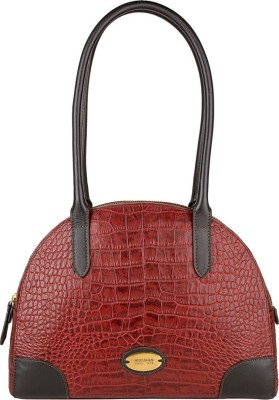 Hidesign Hand-held Bag(Red)  available at flipkart for Rs.4847