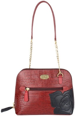 Hidesign Hand-held Bag(Red)  available at flipkart for Rs.4725
