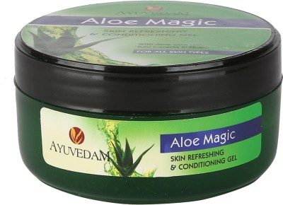 AYUVEDAM Aloe magic Skin Refreshing and Conditioning Aloe Vera Gel(100 g)