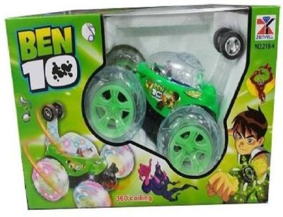 M-Alive BEN 10 Remote Control Racing Stunt Car(Multicolor)