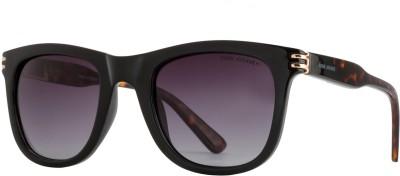 Park Avenue Wayfarer, Retro Square, Rectangular Sunglasses(Grey)  available at flipkart for Rs.2943