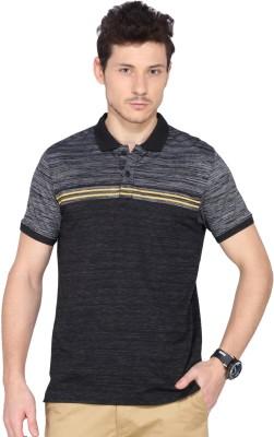 Ruggers Striped Men's Polo Neck Multicolor T-Shirt