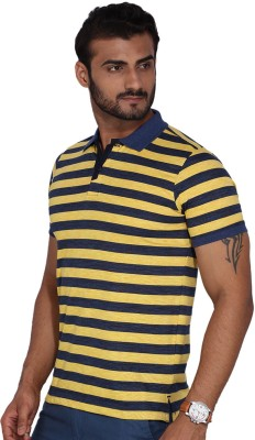 Ruggers Solid Men's Polo Neck T-Shirt