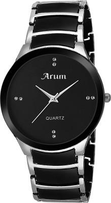 Arum ASMW-023 Black Dial Analog Chain Watch  - For Men