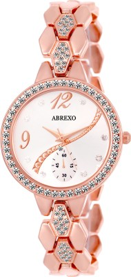 Abrexo Abx8041 Studded Series Analog Watch For Women