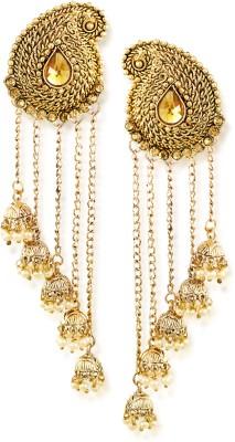 Jewels Galaxy Luxuria Cubic Zirconia Alloy Stud Earring