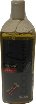 sicons Dog Fashion Allergy Relief, Anti-dandruff, Anti-fungal, Anti-itching, Anti-microbial, Anti-parasitic, Conditioning, Flea and Tick, Hypoallergenic, Whitening and Color Enhancing Mild Fruity Dog Shampoo(200 ml)  available at flipkart for Rs.165