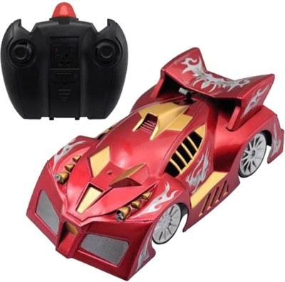 Zurie Toy Collection RC Rechargeable High Speed Wall Climbing Car, Battery Operated(Red)  available at flipkart for Rs.669