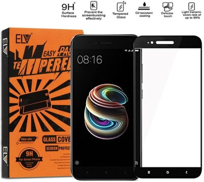 ELV Tempered Glass Guard for Mi A1(Pack of 1)