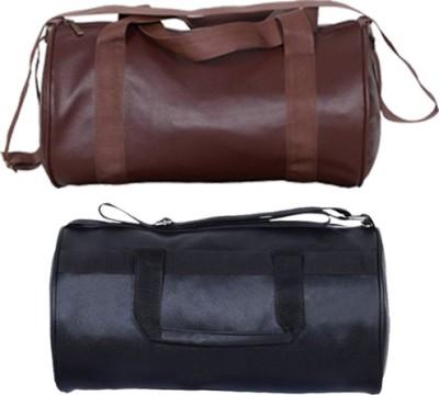 Hyper Adam AN 86 New Leather Look Multi purpose Pack Of 2, Multicolor, Sling Bag Hyper Adam Gym Bag