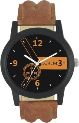 LOREM LR0001 Stylish Dummy Chronograph Analog Watch   For Men LOREM Wrist Watches