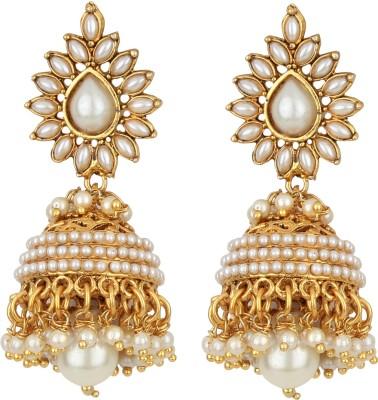 Jewels Gehna Cubic Zirconia Alloy Jhumki Earring Jewels Gehna Earrings