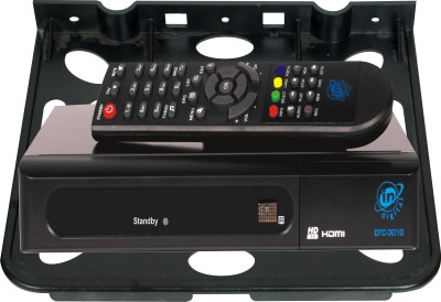S.Blaze Black Set Top Box Stand (Tray) For Living Room & Bedroom Plastic Wall Shelf(Number of Shelves - 1, Black)  available at flipkart for Rs.169